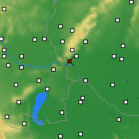Nearby Forecast Locations - Bratislava-Koliba - Map