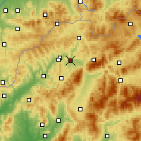 Nearby Forecast Locations - Žilina - Map