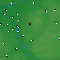Nearby Forecast Locations - Mińsk Mazowiecki - Map