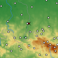 Nearby Forecast Locations - Zgorzelec - Map