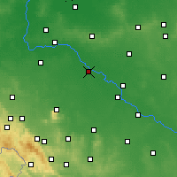 Nearby Forecast Locations - Wrocław - Map
