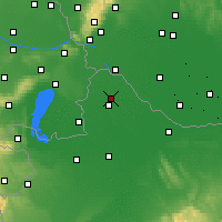 Nearby Forecast Locations - Mosonmagyaróvár - Map