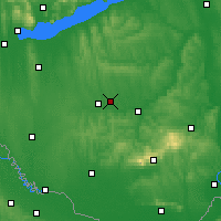 Nearby Forecast Locations - Taszár - Map