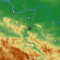 Nearby Forecast Locations - Loznica - Map