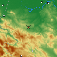 Nearby Forecast Locations - Valjevo - Map