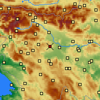 Nearby Forecast Locations - Medvode - Map