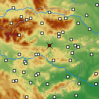 Nearby Forecast Locations - Celje - Map