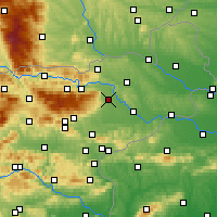 Nearby Forecast Locations - Maribor - Map