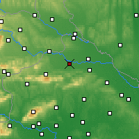 Nearby Forecast Locations - Varaždin - Map