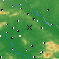 Nearby Forecast Locations - Bjelovar - Map