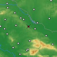 Nearby Forecast Locations - Bilogora - Map