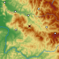 Nearby Forecast Locations - Ocna Șugatag - Map