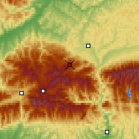Nearby Forecast Locations - Păltiniş - Map