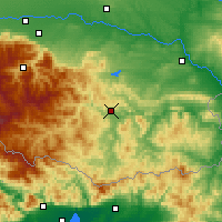 Nearby Forecast Locations - Kardzhali - Map