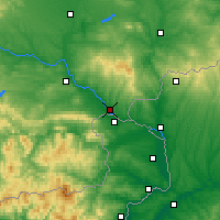 Nearby Forecast Locations - Svilengrad - Map
