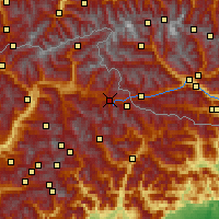 Nearby Forecast Locations - Toblach - Map