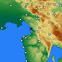 Nearby Forecast Locations - Trieste - Map