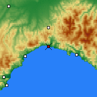 Nearby Forecast Locations - Genoa - Map