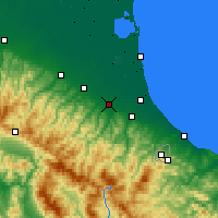 Nearby Forecast Locations - Forlì - Map
