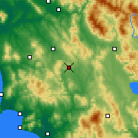 Nearby Forecast Locations - Siena - Map