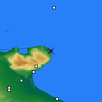 Nearby Forecast Locations - Vieste - Map