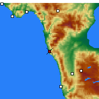 Nearby Forecast Locations - Bonifati - Map