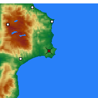 Nearby Forecast Locations - Crotone - Map