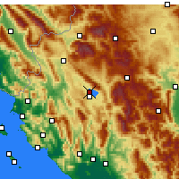 Nearby Forecast Locations - Ioannina - Map