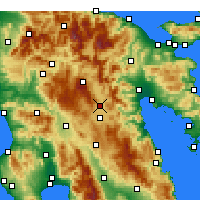 Nearby Forecast Locations - Tripoli - Map