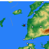 Nearby Forecast Locations - Tenedos - Map