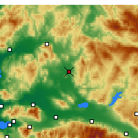 Nearby Forecast Locations - Akhisar - Map