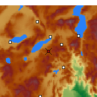 Nearby Forecast Locations - Burdur - Map