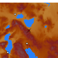 Nearby Forecast Locations - Akşehir - Map