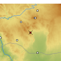 Nearby Forecast Locations - Şanlıurfa - Map