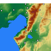 Nearby Forecast Locations - İskenderun - Map