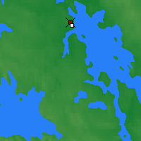 Nearby Forecast Locations - Segezha - Map