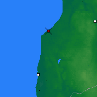 Nearby Forecast Locations - Pāvilosta - Map