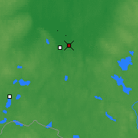 Nearby Forecast Locations - Velikiye Luki - Map
