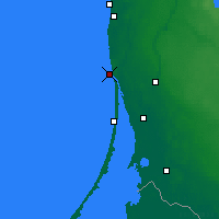Nearby Forecast Locations - Klaipėda - Map