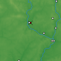 Nearby Forecast Locations - Zhukovka - Map