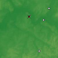 Nearby Forecast Locations - Kirov - Map