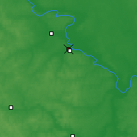 Nearby Forecast Locations - Ryazan - Map