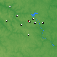 Nearby Forecast Locations - Pashkovo - Map