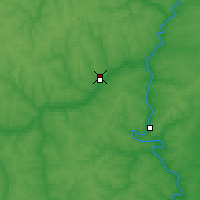 Nearby Forecast Locations - Yelets - Map