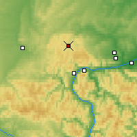 Nearby Forecast Locations - Kacha - Map