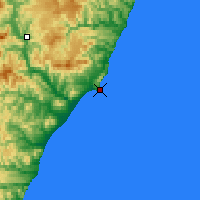 Nearby Forecast Locations - Cape Zolotoj - Map