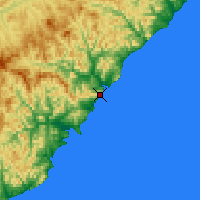 Nearby Forecast Locations - Terney - Map