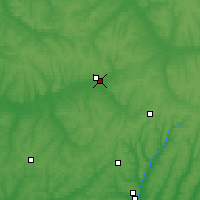 Nearby Forecast Locations - Oboyan - Map