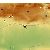 Nearby Forecast Locations - Qamishli - Map