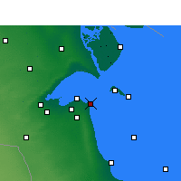 Nearby Forecast Locations - Salmiya - Map